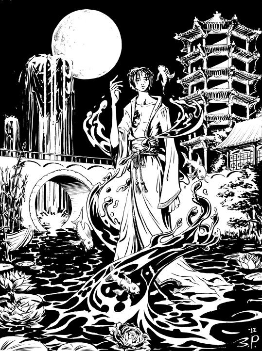 Bride of the Water God fan art