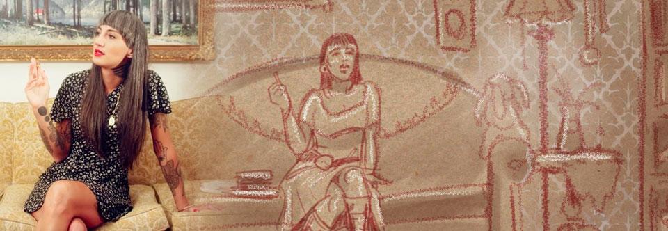 Blitzen Trapper music video storyboard